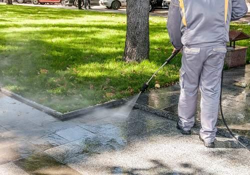curatare granit exterior